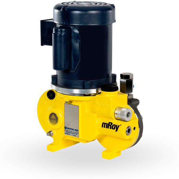 An mROY Series Metering Pump.